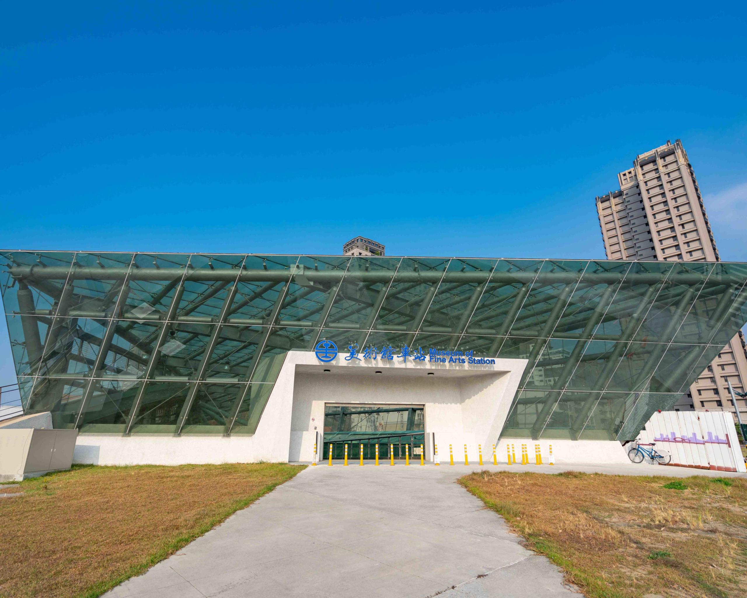 青海line-美術館站